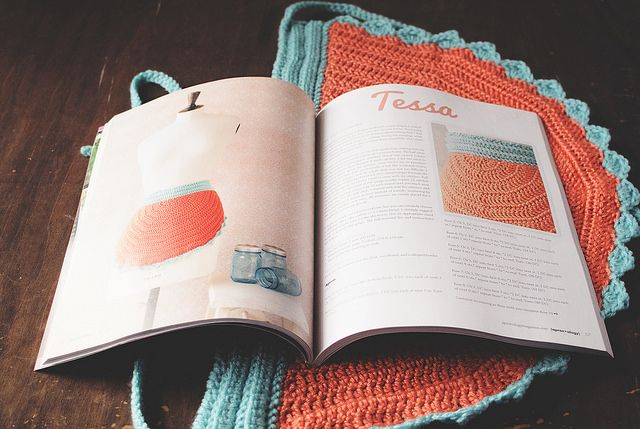 Goodknits apron pattern in Apronology Magazine, Volume 6! Apron giveaway on the blog open through 2/14/14.