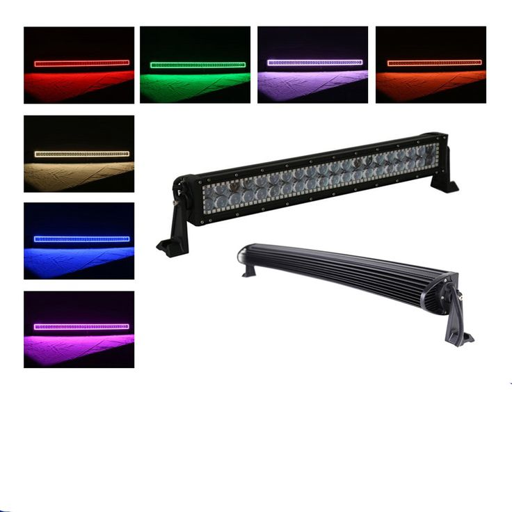 """==> [Free Shipping] Buy Best Nicoko 120w 22"""" Curved 4D creechip Led offroad light bar for truck with RGB halo Ring Fog Lights Driving 4x4 offroad Boat Online with LOWEST Price 