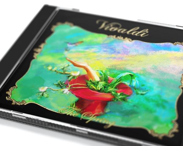 A.L.Vivaldi - The Four Seasons - Spring - cover