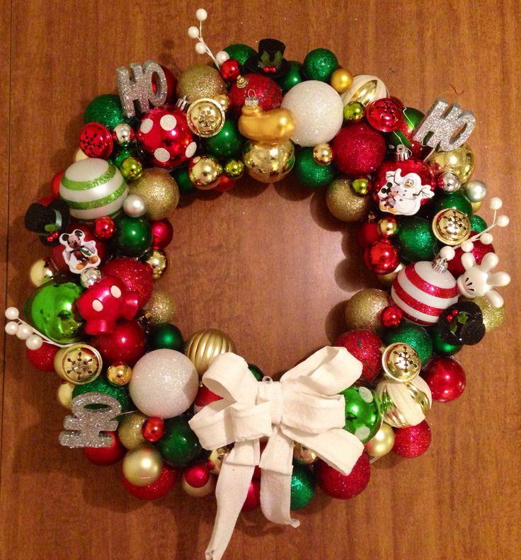 Mickey Wreath via etsy!