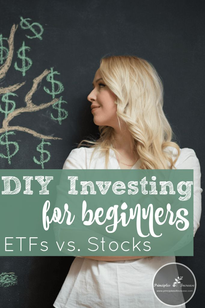 Since I am a DIY investor, I guess I should know the difference between ETFs and Stocks. This is pretty helpful and take the pressure off to pick the right stocks! #stockmarket #investing #diyinvesting