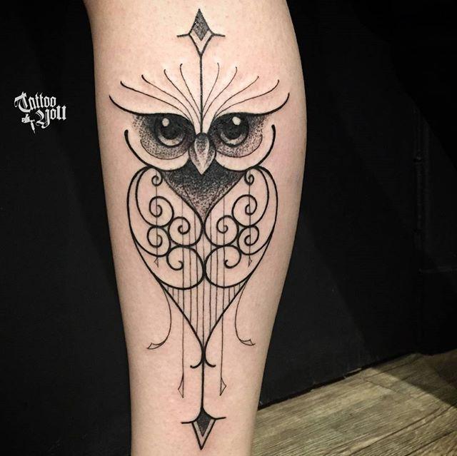 Fada E Coruja Pictures To Pin On Pinterest Tattooskid