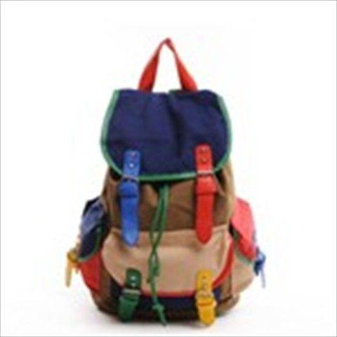 Canvas Reisetaschen Casual Rucksäcke für Jungen und Mädchen