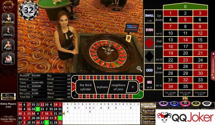 Roulette Allbet Casino (Minimal Taruhan Rp 50.000,-) merupakan permainan angka yang menggunakan bola kecil yang diputar di papan roulette. Banyak sekali cara melakukan taruhan roulette, berikut ini…