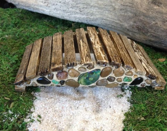 Fairy Garden Bridge For Fairies Gnomes By UnderTheMushroomCap, $35.00