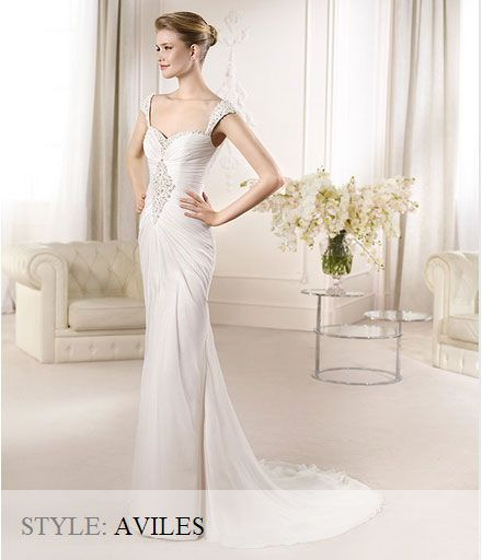 San Patrick Wedding Gown - Fashion 2013 Collection - Aviles