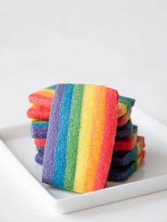 Rainbow Cookies (pineado por @PabloCoraje)  #Citas #Frases #Quotes