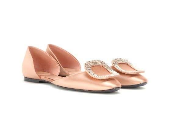 Sandali gioiello Primavera-Estate 2015 - Sandalo gioiello rosa Roger Vivier