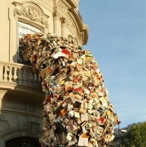 Book Art Is Awesome: Large-Scale Installations