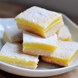 {Bake Sale Lemon Bars} Yum!