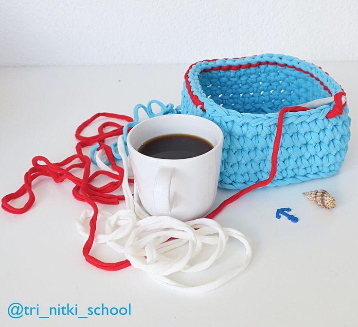 Вспомнился вчера старый интернет мем про албанский язык😅Так что сегоня познакомимся с этим языком!  Miremengjes! [Мирмэнгес] - Доброе утро!  Si jeni? [Си ени?] - Как ваши дела? Готовы к плодотворному окончанию рабочей недели?  За яркую корзинку и ароматную чашечку кофе спасибо Мрине @heartmade_by_mari!  🌸🌸🌸🌸🌸🌸🌸🌸🌸🌸🌸🌸🌸🌸🌸🌸🌸🌸 #штн #школа_три_нитки #tri_nitki_school #штн_доброеутронародовмира #штн_все_обо_всем  #учусьвязать #учувязать #трикотажнаяпряжа #тпряжа #yarn #crochet…