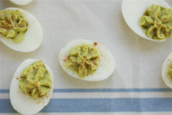 Avocado Deviled Eggs | Avocado Deviled Eggs, Deviled Eggs and Avocado