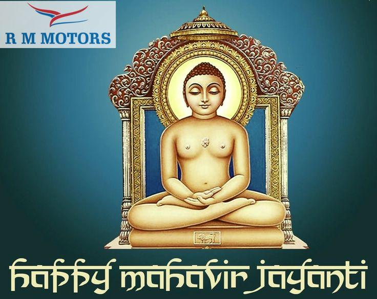 Lord Mahavir Blessed you and full your life with glory of #Love &  #Mercy !!   #HappyMahavirJayanti #MahavirJayanti #RMMotors
