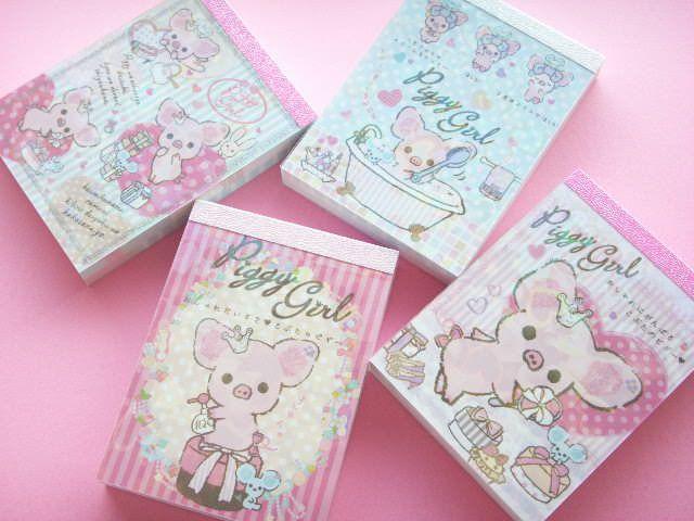 Piggy Girl memo pads!