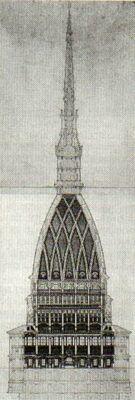 Torino, Italia, 1863 - 1878 Architect: Alessandro Antonelli Height: 167.5 m…