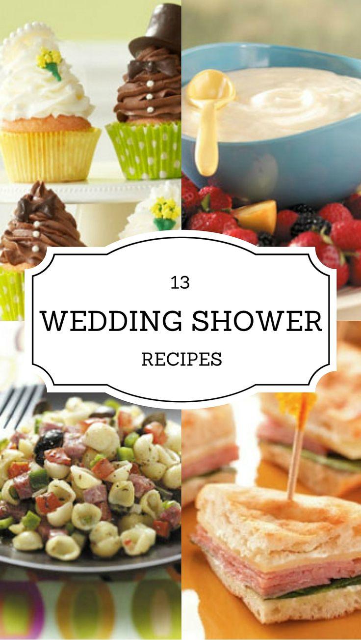 45 best Baby & Bridal Shower Recipes images on Pinterest