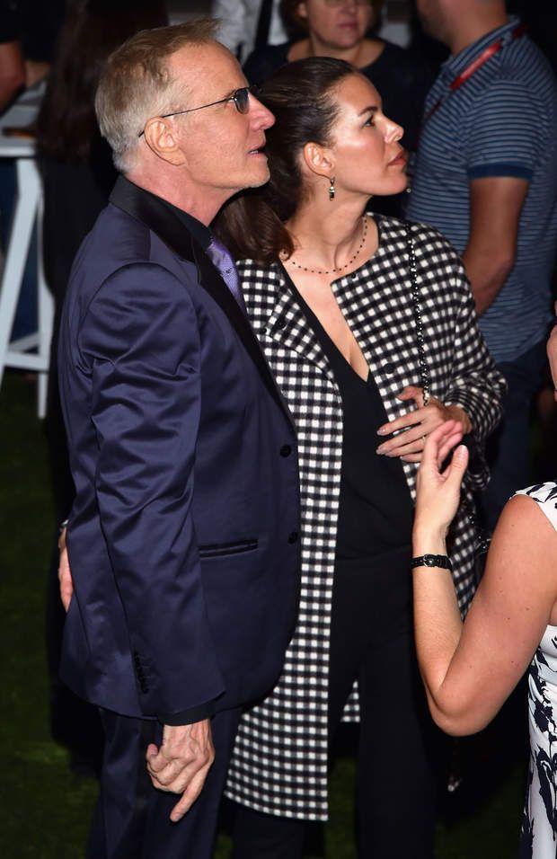 """Christophe Lambert et sa nouvelle compagne à la soirée de lancement de la série """"Mata Hari"""" au MIPCOM 2016 à Cannes, Christophe Lambert et sa nouvelle compagne à la soirée de lancement de la série"""