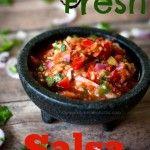 Smokey Fresh Garden Salsa Recipe
