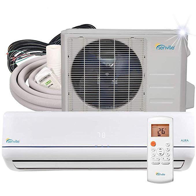 Senville 9000 Btu Mini Split Air Conditioner Heat Pump Sena 09hf Z