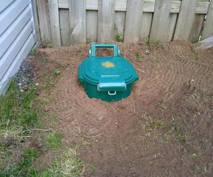 how to make dog septic tank