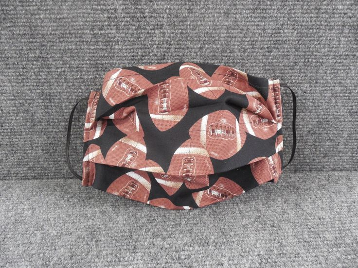 Football print cotton mask face mask in 2020 printed