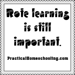The Importance of Rote Learning - Rote learning is still important.