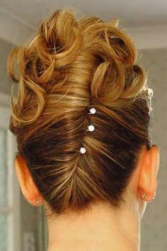 Messy French Twist Tutorial - Once Wed | French twist hairstyle ...