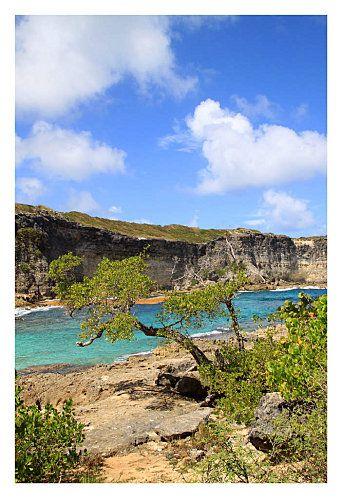 Lagon de la Porte de l'enfer - Guadeloupe. Info : http://www.les-deboussoles.com