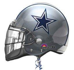 "21"" Dallas Cowboys Helmet Foil Balloon"