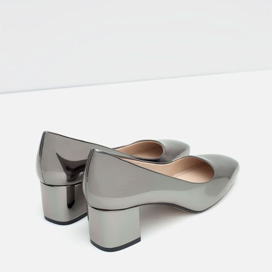 Image 4 of SHINY COURT SHOES from Zara