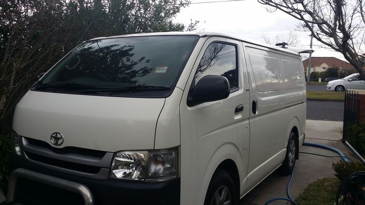 A nice new van to carry the new Truck mount around it!  Can't wait to get my logo on this! #carpetcleaningmelbourne