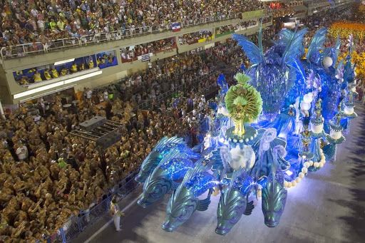 Stunningly Beautiful Images From Rio De Janeiro's Carnival  The Carnaval in Rio de Janeiro is a world famous festival held before Lent every year and considered the biggest carnival in the world with two million people per day on the streets. The first festivals of Rio date back to 1723
