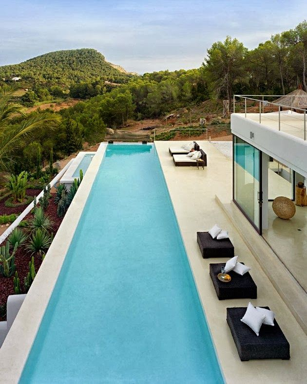 Swimming Pool Houses Designs best 46 indoor swimming pool design ideas for your home World Of Architecture Ibiza Dream Home By Jaime Serra Spain Modern Pool Housemodern Poolsswimming Pool Designsswimming Poolspool