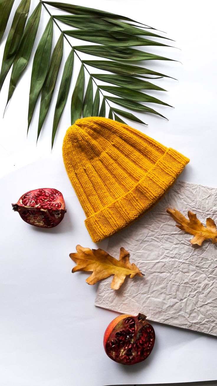 hand knitted set for kids - mustard beanie hat and snood - yellow beanie hat for kids - yellow snood - merino wool beanie hat - wool beanie