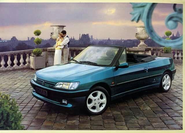 1994 Peugeot 306 Cabriolet Brochure