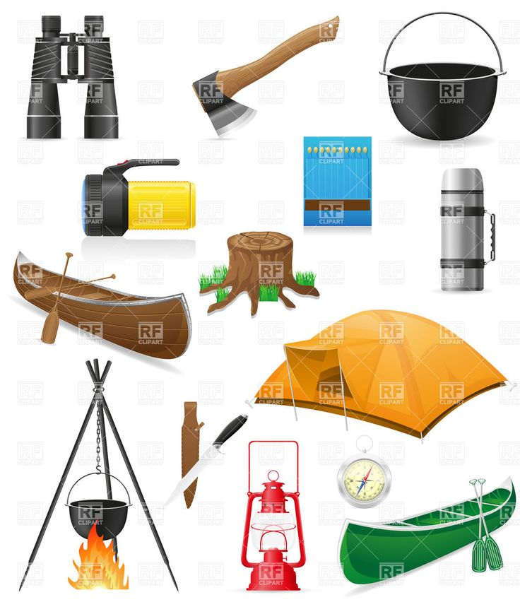 Camping Equipment Clip Art Free More Details At The Link Of Image