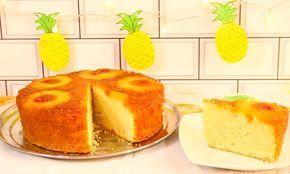 Aprende a preparar Keke de Piña - Cocina Moyocha