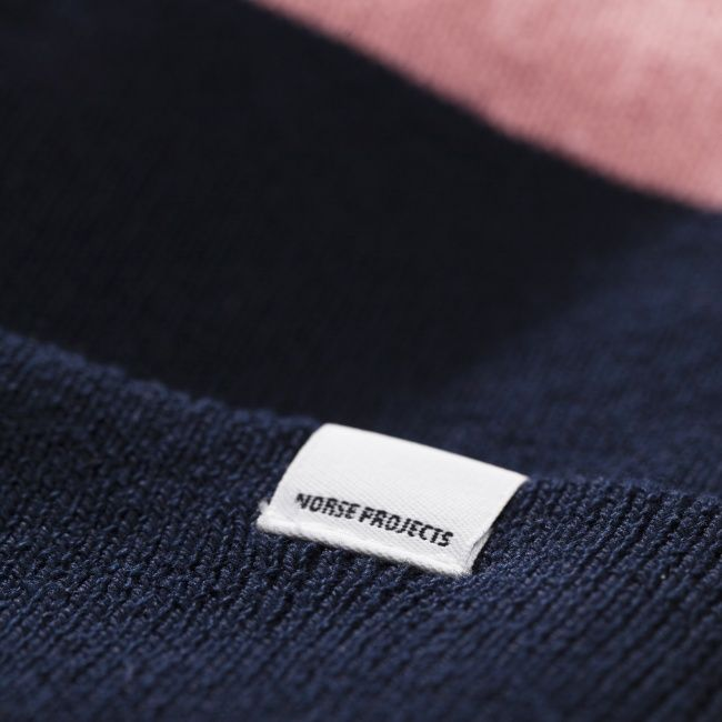 Norse Projects Moa Cotton Black Beanie - Norse Projects