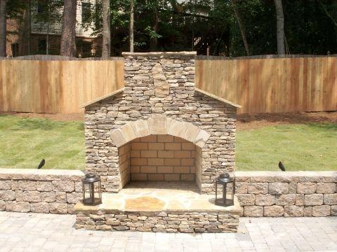 best 25+ backyard fireplace ideas on pinterest | outdoor