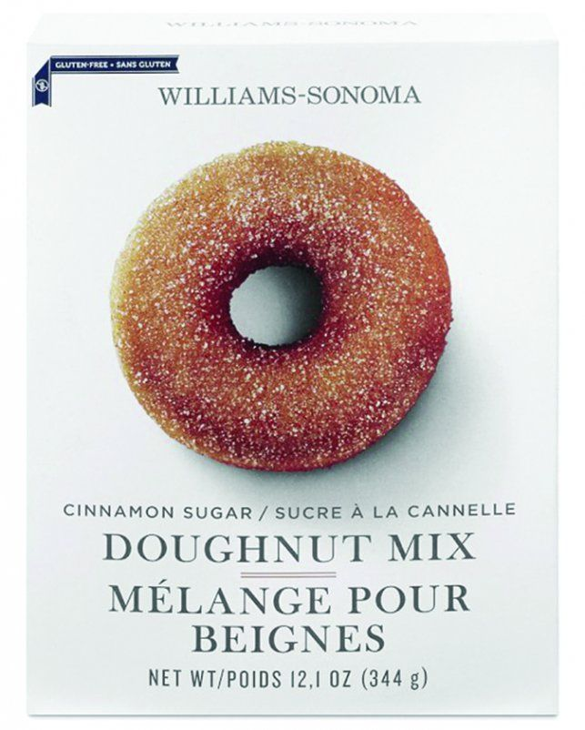 Donut mixes and frozen donuts