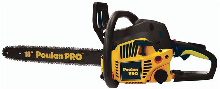 """Poulan Pro PP4218A assembled chainsaw  