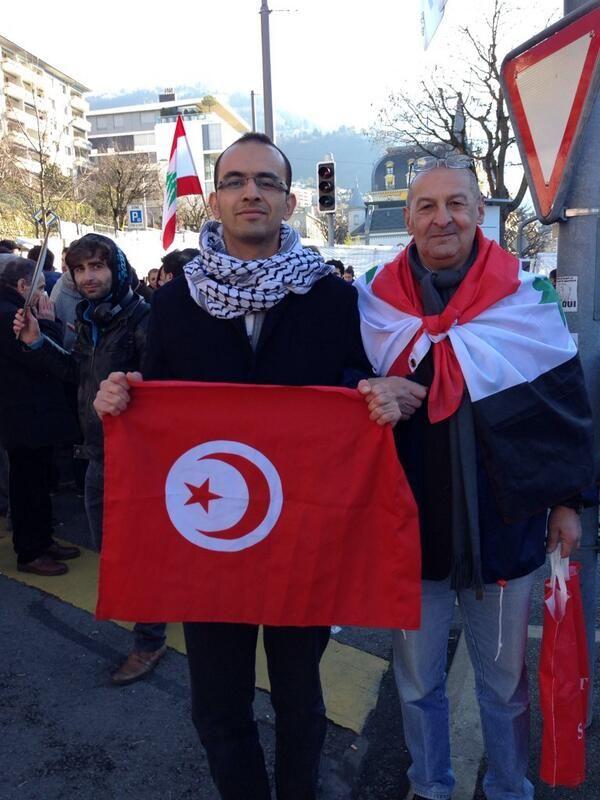 """@julioteleSUR: """"Tunecino y marroquí respaldan gobierno de Al Assad"""""""