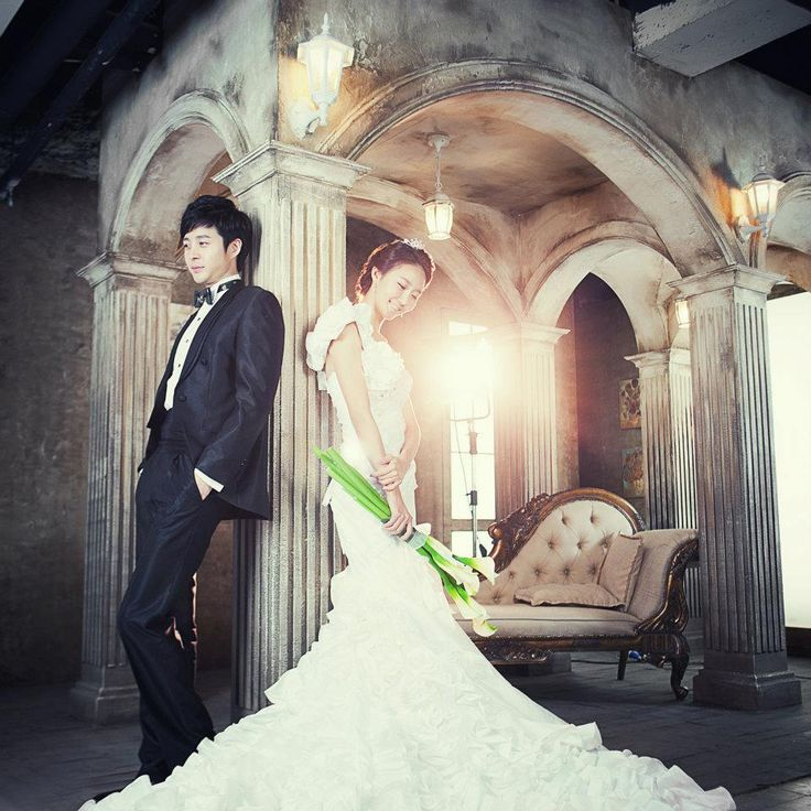 Korean Style Pre-Wedding Photos
