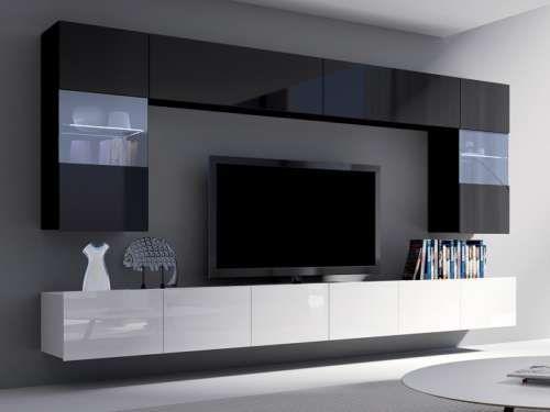 Wohnzimmermöbel billig ~ Billig wohnwand designer deutsche deko