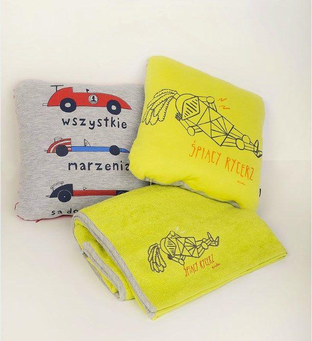 Poduszki Emdo dla dzieci: http://endo.pl/kategoria/34/swiaty_endo/poduchy_i_poduszeczki.html