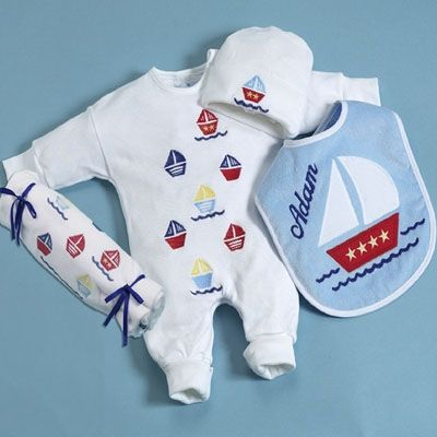 459 best baby gifts and baskets handmade in the usa images on online shopping for sail away layette personalized baby gift find delightful baby gift from our baby boy gifts collection your online baby store negle Choice Image