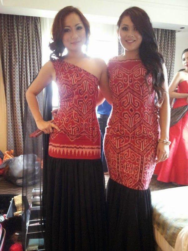 Pua kumbu dresses
