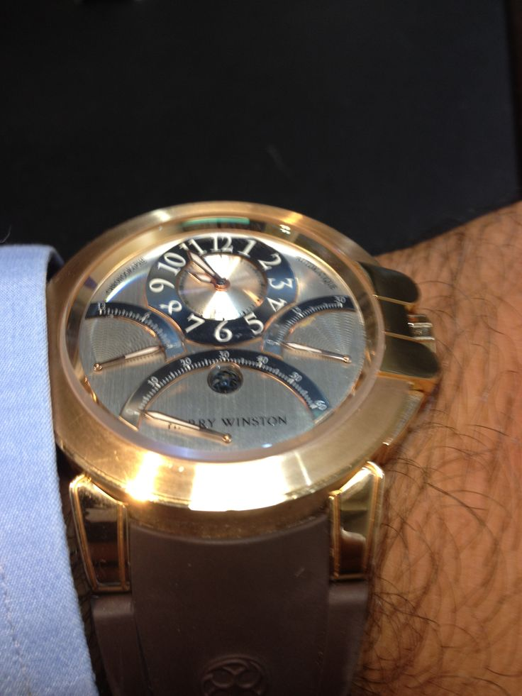 Harry  Winston rose gold