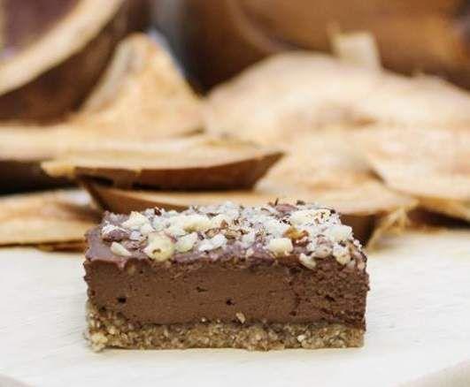 Recept RAW Cuketovo-čokoládové řezy od Lucía - Recept z kategorie Dezerty a sladkosti