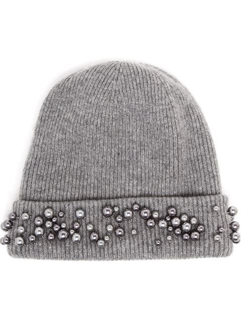 Купить Maison Michel embellished beanie hat в Browns from the world's best independent boutiques at farfetch.com. Shop 300 boutiques at one address.